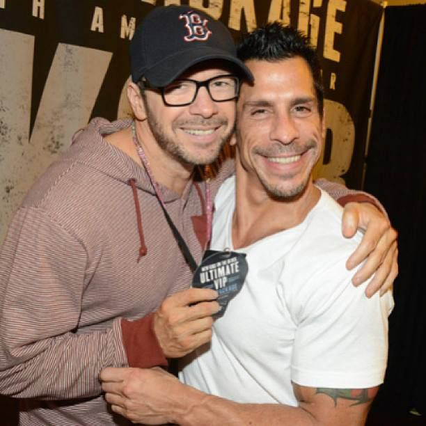 Donnie Wahlberg and Danny Wood ~New Kids On The Block~