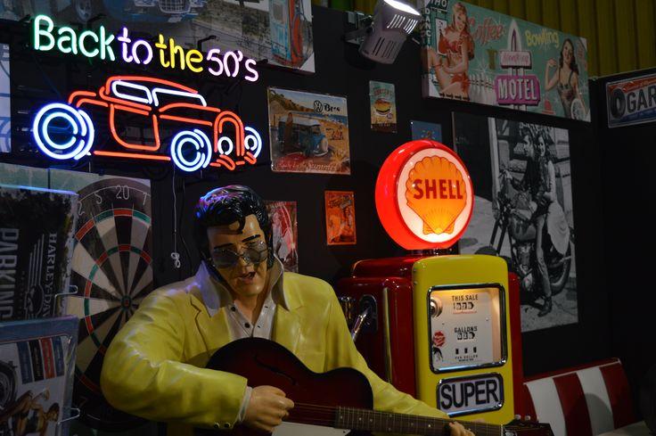 #lusima #arredoanni50 #pompadibenzina #Elvis #motorShow2014