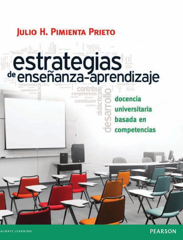 Estrategias de ensenanza aprendizaje  APRENDIZAJE ENSEÑANZA EDUCACION