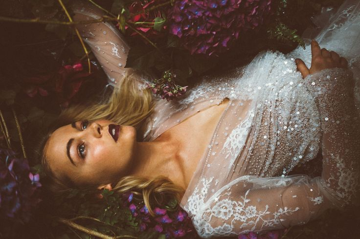 Sleeping Beauty - Aynhoe Park - Inbal Dror - Editorial Jessica Withey Photography