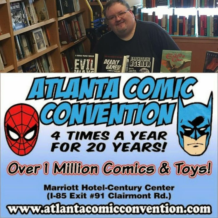 The Lo' There Shall Come A Con Tour 2017! tourcontinues this weekend! Join me at TheAtlanta Comic Conventionon Sunday, July 2, 2017 in Atlanta, GA. from 11am - 5 pm. www.atlantacomicconvention.com