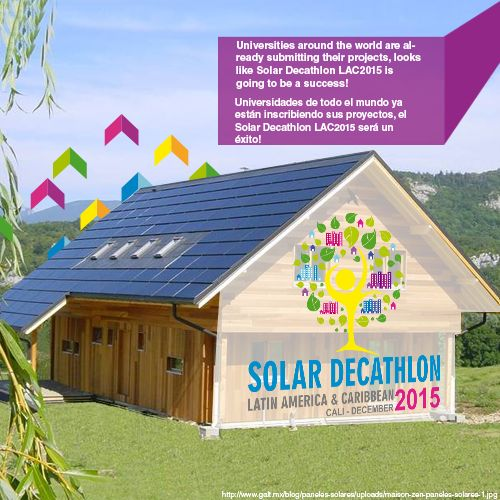-Visit www.solardectahlon2015.com.co and take part on world´s most exciting academic competition!   -Visita www.solardecathlon2015.com.co y haz parte de la competencia académica más importante del mundo!