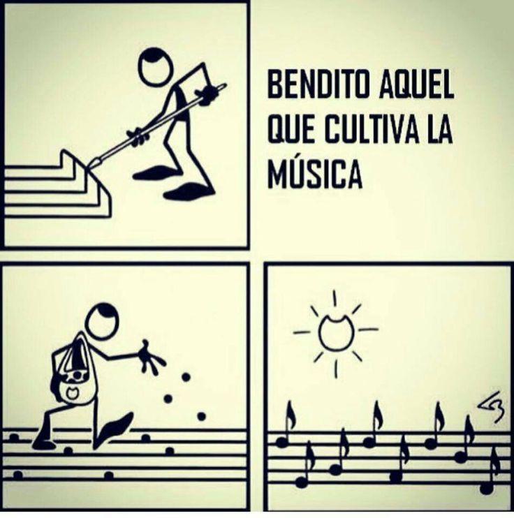 Bendito aquel que cultiva la música