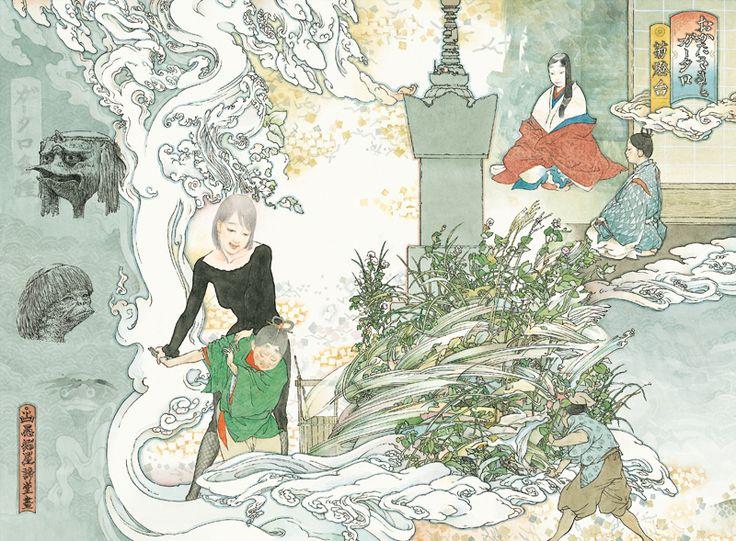- MIZUMA ART GALLERY 山口 晃 菊燈台 ed. /60