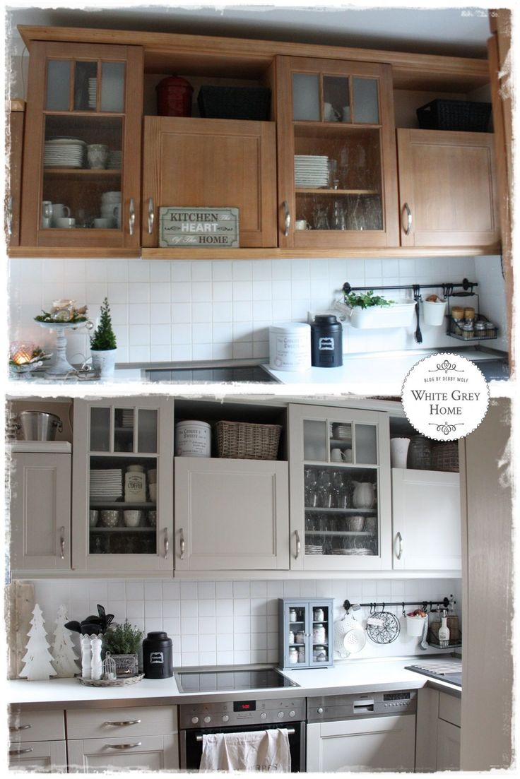 12 küche weiß streichen vorher nachher | haus küchen