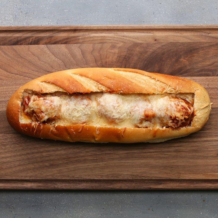 Aprenda a fazer um incrível sanduíche de almôndega!