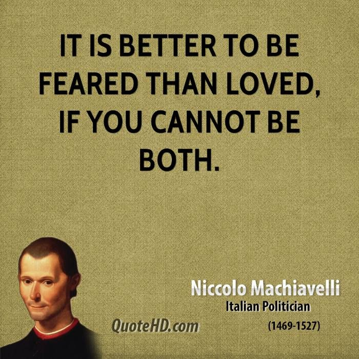 a biography of niccolo machiavelli a politician Machiavelli was right corrado vivanti's learned intellectual biography reinforces viroli's image of if machiavelli advised politicians to.