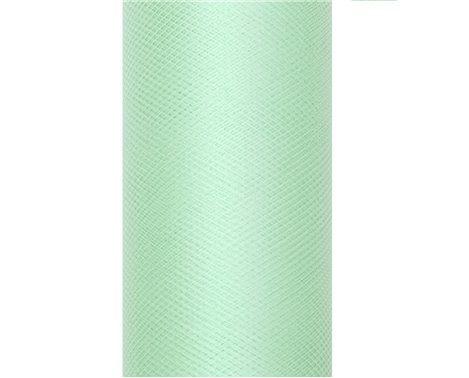 Tyl i Mintgrøn 0,15 x 9 meter.