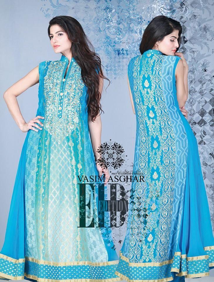 Vasim Asghar Women Eid Ul Fitr Wear Collection 2014 5 Vasim Asghar Women Eid Ul Fitr Wear Collection 2014
