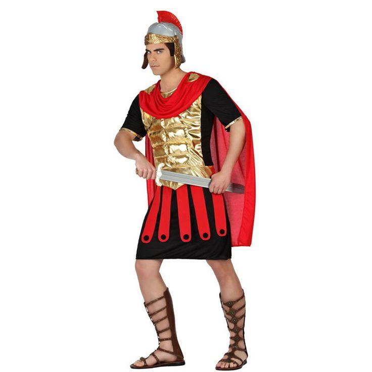 Disfraz de Romano Dorado #disfraces #carnaval                              …