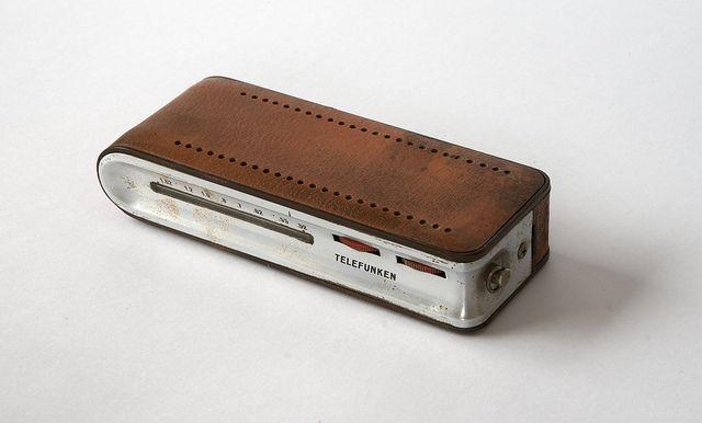 TELEFUNKEN Match Transistor Radio. 1963 Richard Sapper.