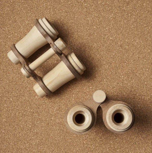 Beautiful Wooden Toys: Binoculars Fanny & Alexander