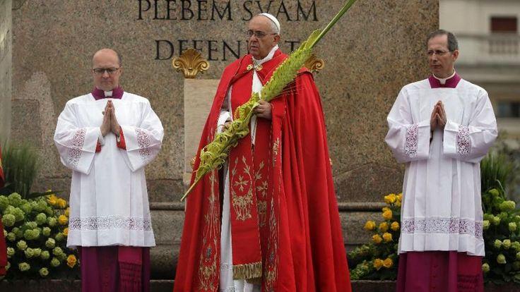 palm sunday vatican