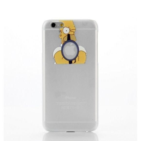 coque homer mange pomme iphone 6   Iphone 6, Iphone, Electronic ...