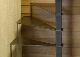 STEEL UP: petit escalier en acier