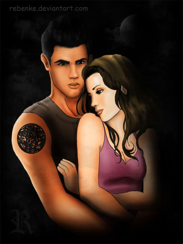 jacob black and renesmee cullen - 600×800