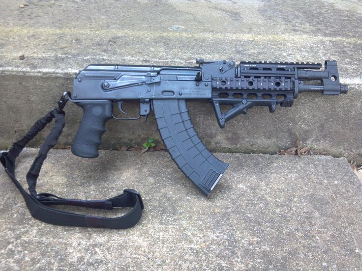 AKM in 7.62x39mmLoading that magazine is a pain! Get your Magazine speedloader today! http://www.amazon.com/shops/raeind