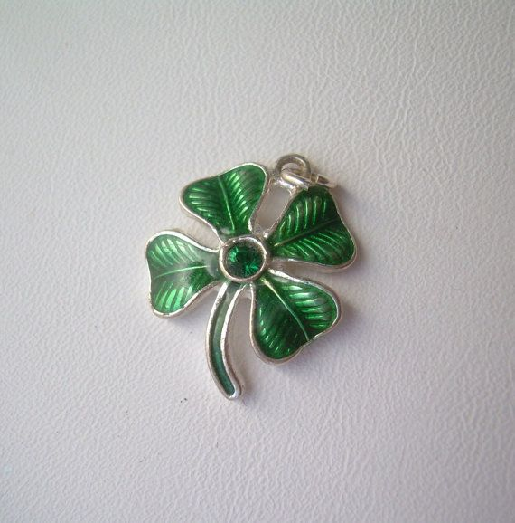 396 Best Images About Vintage Charms Shamrocks Amp Clovers