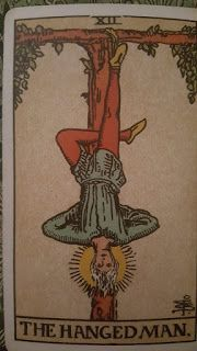 Today's Blog: Tarot Tuesday: The Hanged Man - A Topsy Turvy Situation http://ghostsandspiritsinsights.blogspot.com/2017/06/tarot-tuesday-hanged-man-topsy-turvy.html Here's this week's Tarot lesson from my friend Joy Andreasen of Whispers of Joy: