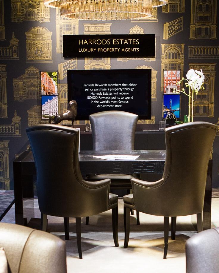 Harrods Window Display - The Studio Harrods & Harrods Estates