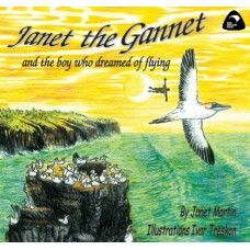 Janet the Ganet and the Boy Who Dreamed of Flying. Janet the Gannet from Muriwai Beach wanted to fly to a place out of reach...Jack was a boy who dreamed of flying . One night something magical happened - was it just a dream? A rhyming picture book by award winning New Zealand author Janet Martin with illustrations by Ivar Treskon. Made in New Zealand for ages 2-6.  See more at www.entirelynz.co.nz/gifts