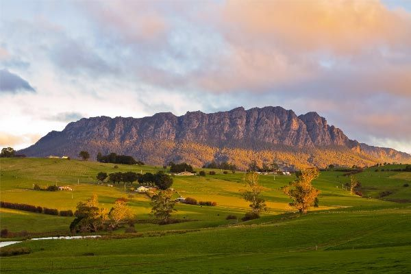 Mount Roland. Photo by @Carol M Haberle for Think #Tasmania.