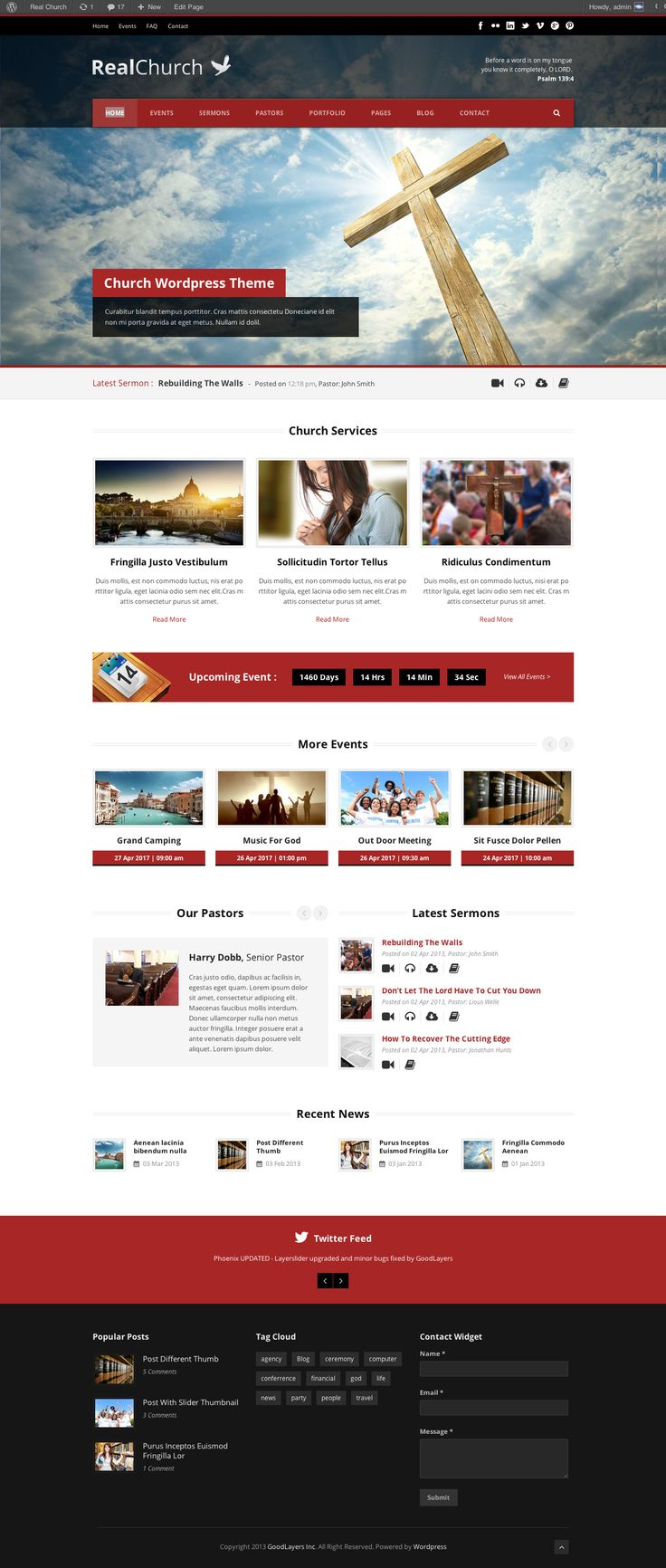real church responsive retina ready theme website layoutwebsite ideaswebsite designsschool