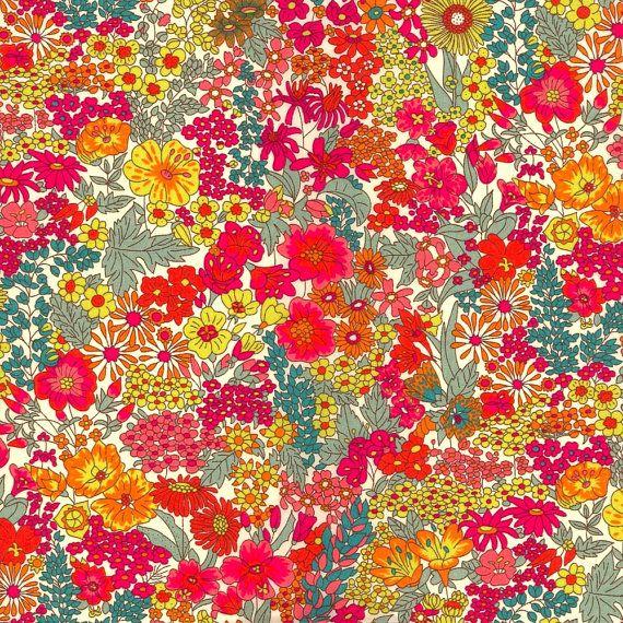 Liberty London fabric. Perfect! Margaret Annie Liberty Tana Lawn Fabric Half Yard. $17.50, via Etsy.
