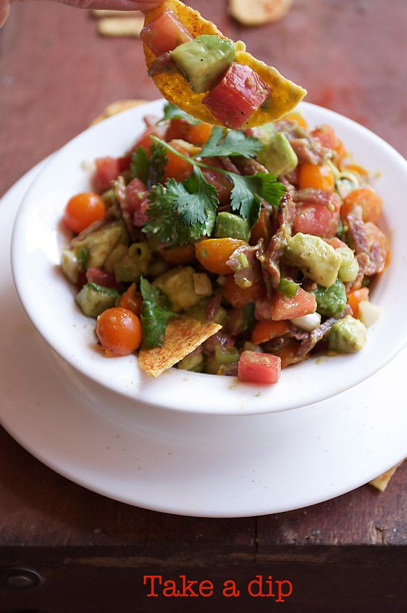 how to make mexican guacamole salsa