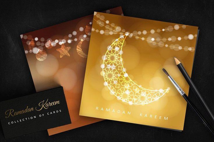 Ramadan set ramadan kareem greeting card islamic traditional arabic ramadan set ramadan kareem greeting card islamic traditional arabic islam moon o eid ul fitr 2018 m4hsunfo