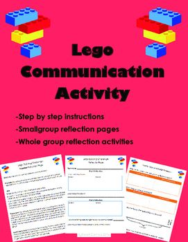 Lego Building First Day Communication Activity                                                                                                                                                      More