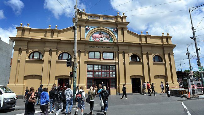 The Queen Victoria Market is a major landmark in Melbourne, Australia, and is the largest open air market in the Southern Hemisphere.