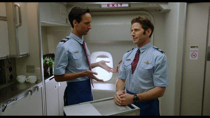 Larry Gaye: Renegade Male Flight Attendant (2015) with Suunto Vector XBlack  #SuuntoSpotted