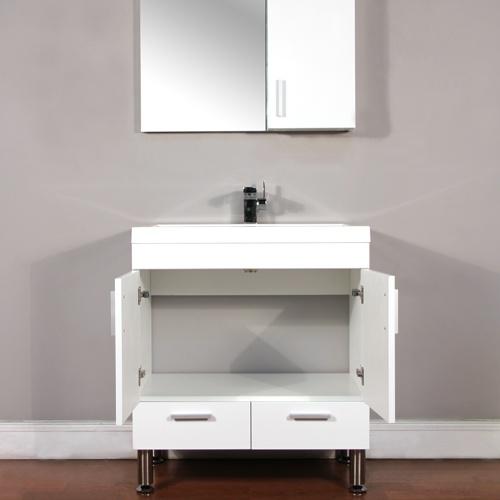 7 best at 8085 w ripley 30 single modern bathroom vanity set white images on pinterest for Modern bathroom vanities for less
