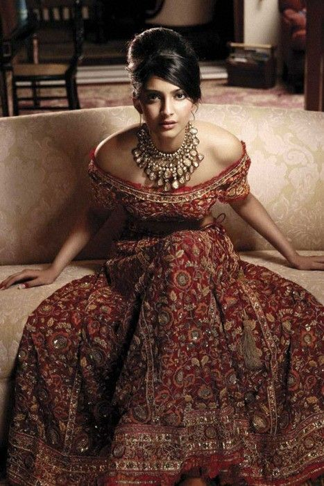 gorgeous...possible Western/Indian fusion dress for reception