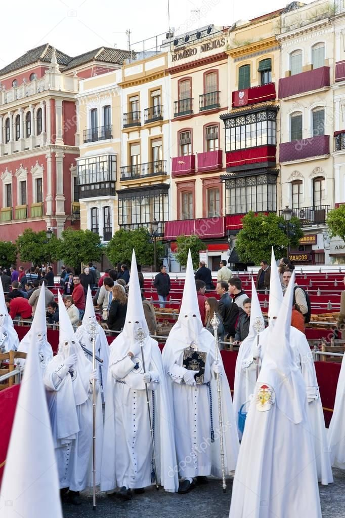 Semana Santa Fiesta Easter Seville Andalucia Spain Stock Photo Sponsored Fiesta Easter Semana Santa Ad Andalucia Spain Seville Andalucia