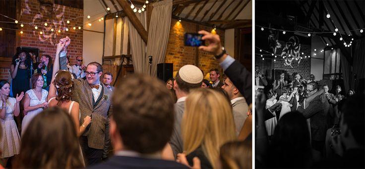 Festoon lights at Bix Manor for a beautiful Jewish wedding
