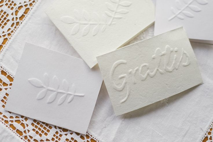 Handmade embossed cards  BLOMSTRANDE   DIY handgjord relief på papper   http://blomstrande.com