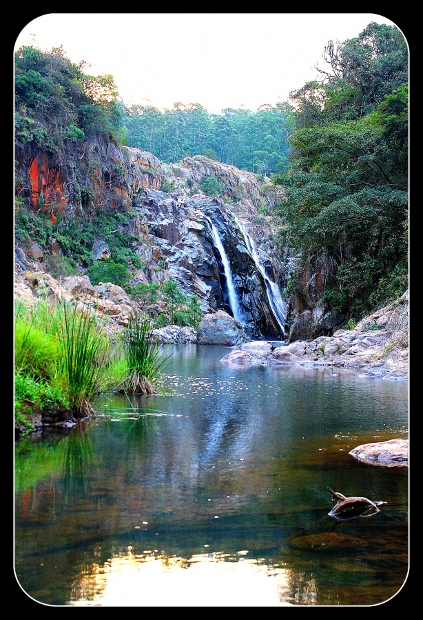 waterfall in swaziland...we had family friends who lived here for awhile...I've always wanted to go....