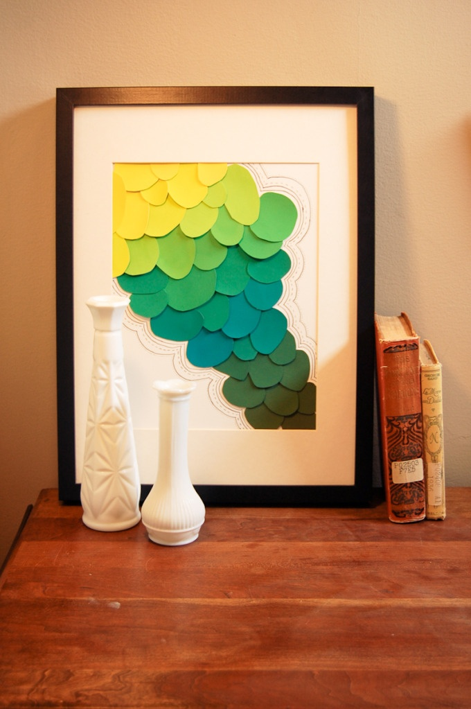 diy paint swatch art diy paint color sample ideas