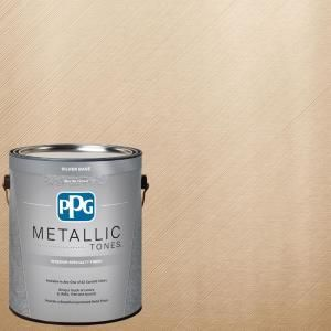 PPG METALLIC TONES 1 gal. MTL132 Frosted Ivory Metallic Interior Specialty Finish Paint MTL132-01 at The Home Depot - Mobile