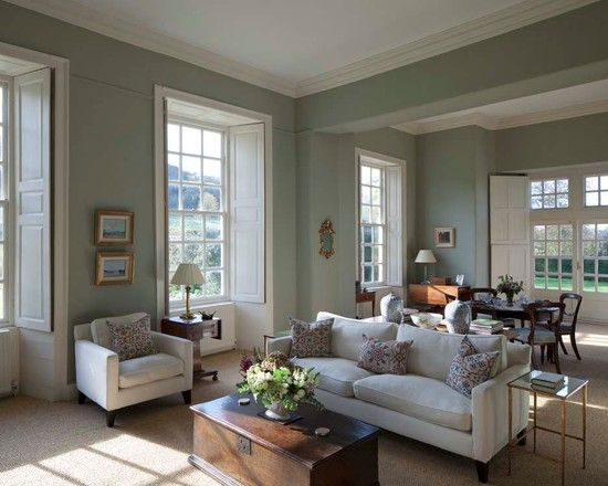 living room walls painted duck egg blue