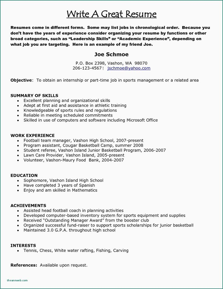 Barista Job Description for Resume Luxury 9 10 Template