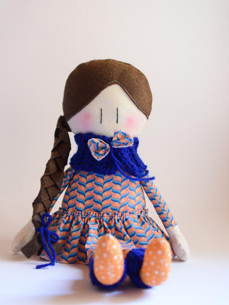 Le Amicoccole: Bambole in tessuto fatte mano con amore, portatrici di coccole. La trovi nel mio negozio etsy https://www.etsy.com/shop/ilfioccodiileana