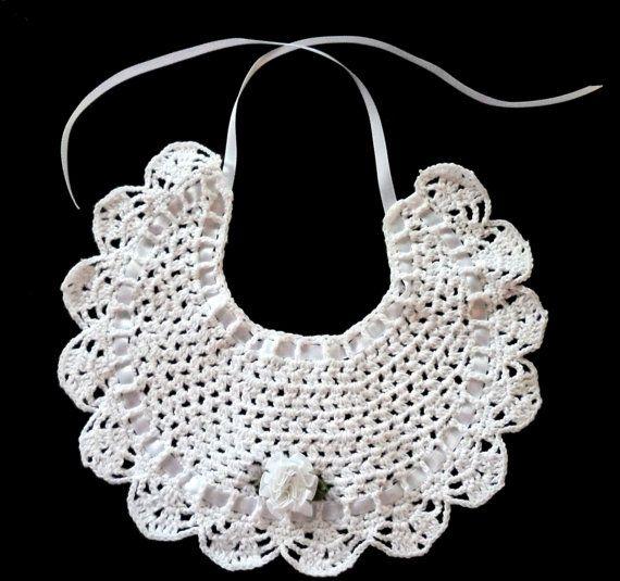 Crochet Cotton Baby Bib Pattern : 25+ best ideas about Crochet Bib on Pinterest Crochet ...