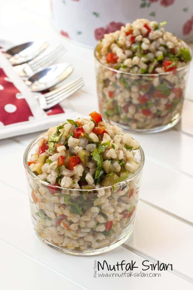 Buğday Salatası   Mutfak Sırları