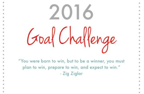 2016 MWM Goal Challenge Sign Up