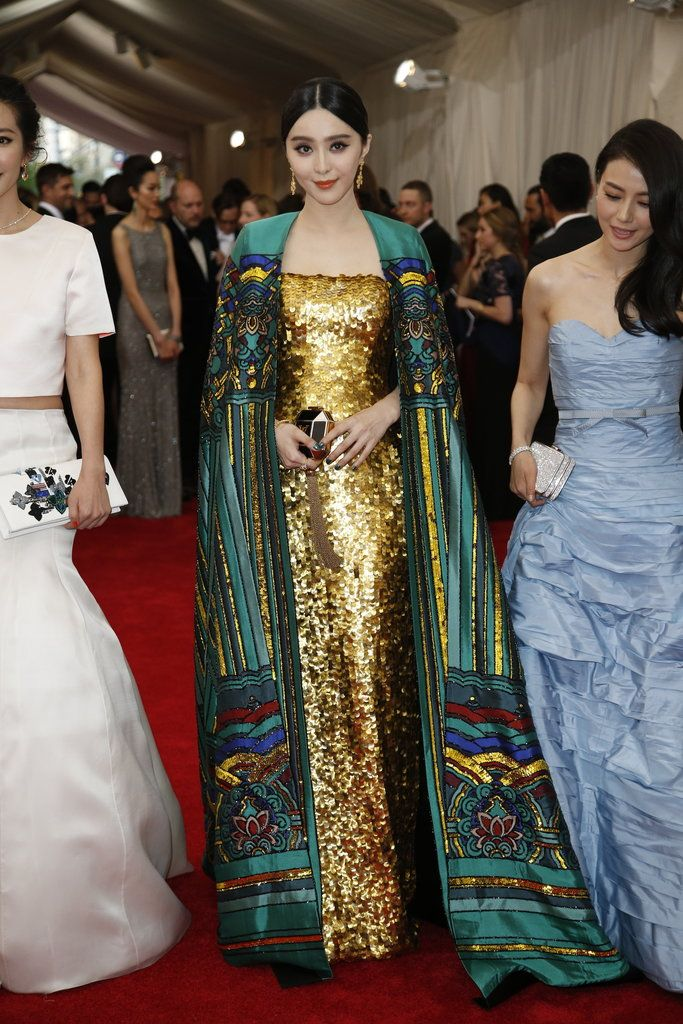 Fan Bingbing at the Met Gala 2015. Red Carpet Watch: Met Gala 2015 - NYTimes.com