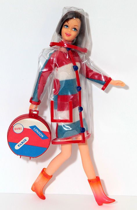 """Francie Wearing """"Clear Out"""" Fashion #1281, 1960's"""