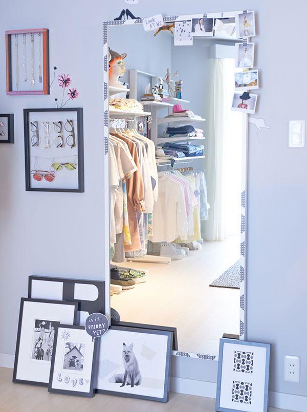 「さあ、じぶん全開、新生活。」 コーディネートに欠かせない全身鏡や洋服スタンドで、ファッションをもっと楽しもう。 #イケアと新生活 #イケア #IKEA #新生活 #ファッション